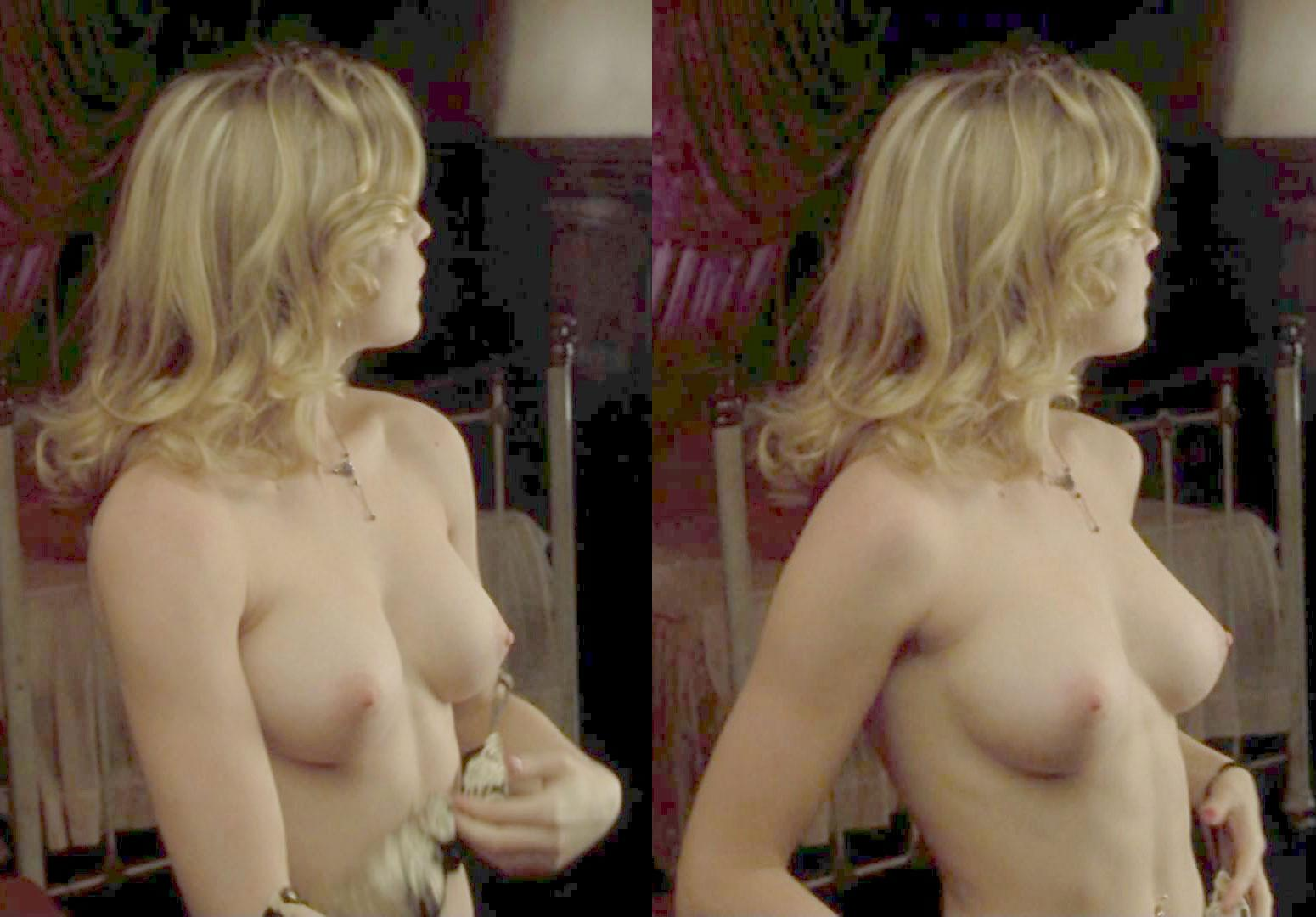 naked white women boobs