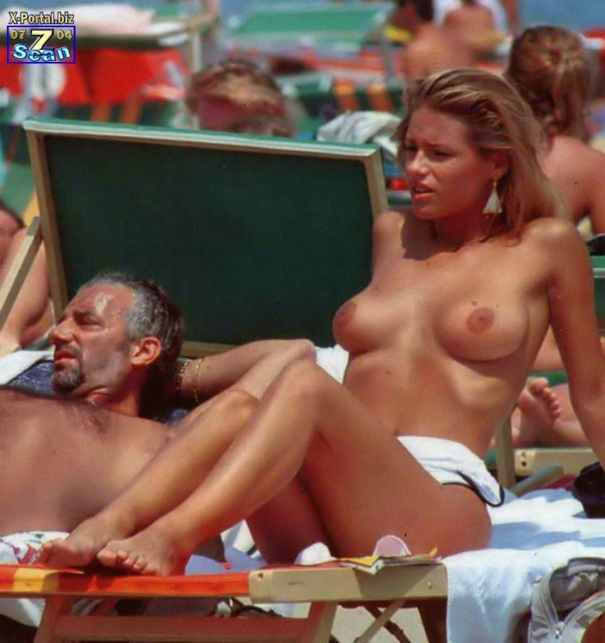 Michelle hunziker nude pics, two nude pussies