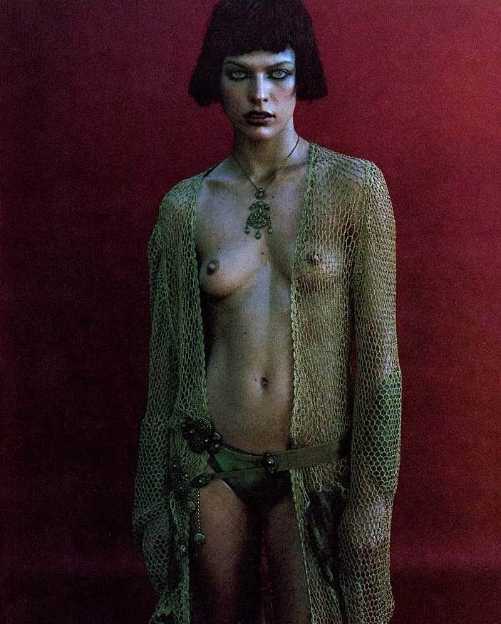 Milla jovovich nude he got game