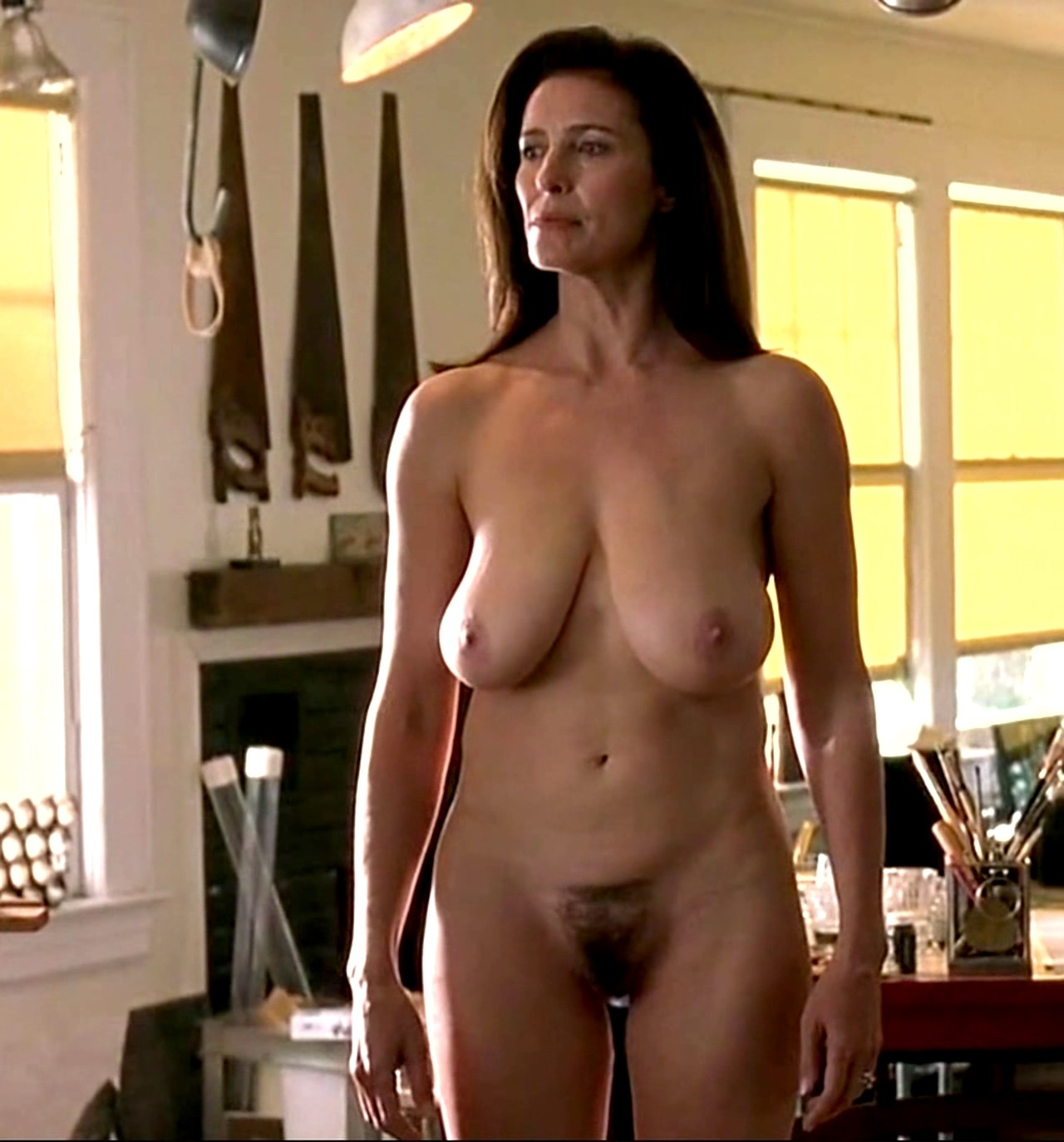Fraiser Co Star Jane Leeves Nude And See Thrus