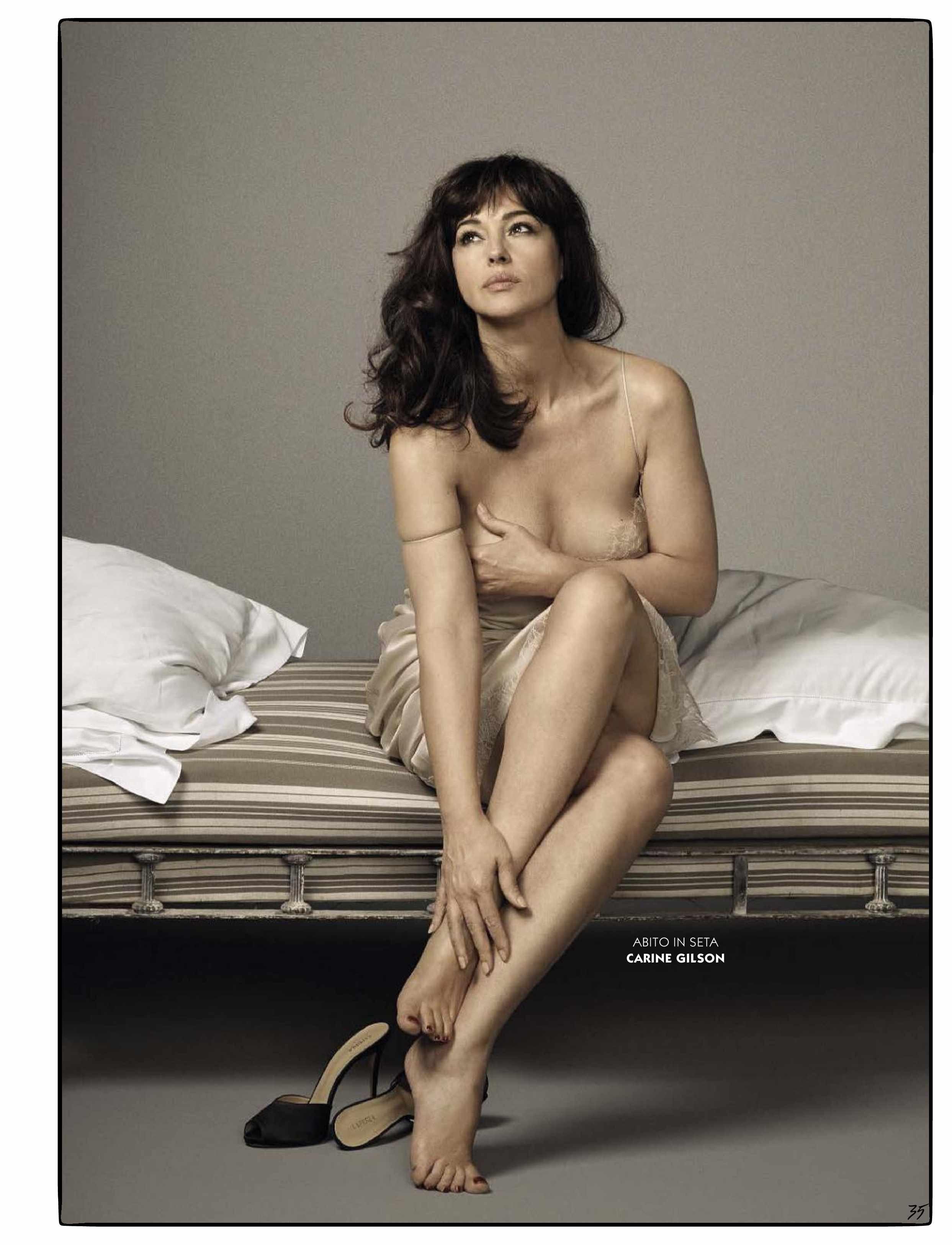 Monica Belluci se desnuda y habla del sexo después de