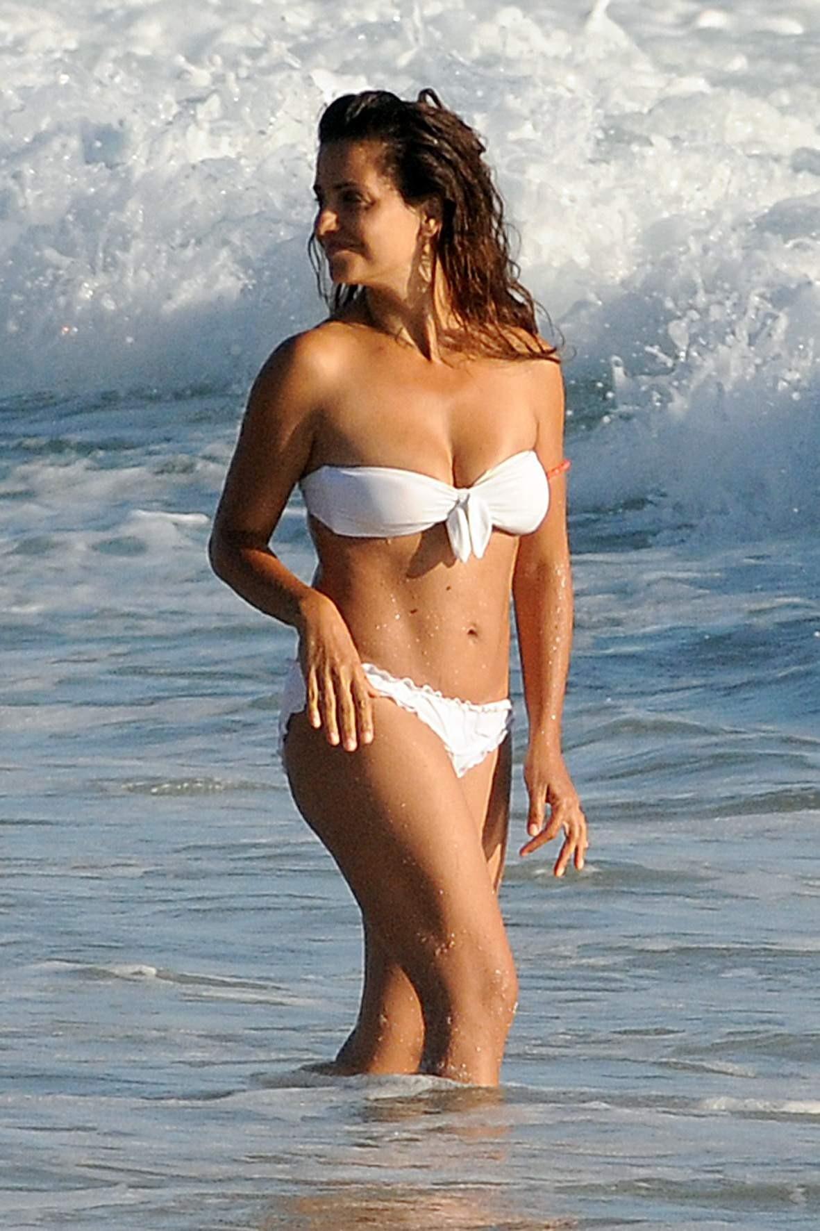 Monica sales in bikini