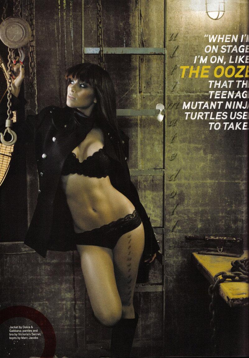 Nicole Scherzinger desnuda, la musa de la F1
