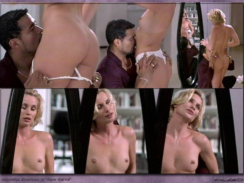 Nicollette sheridan shows off her hot bikini bod