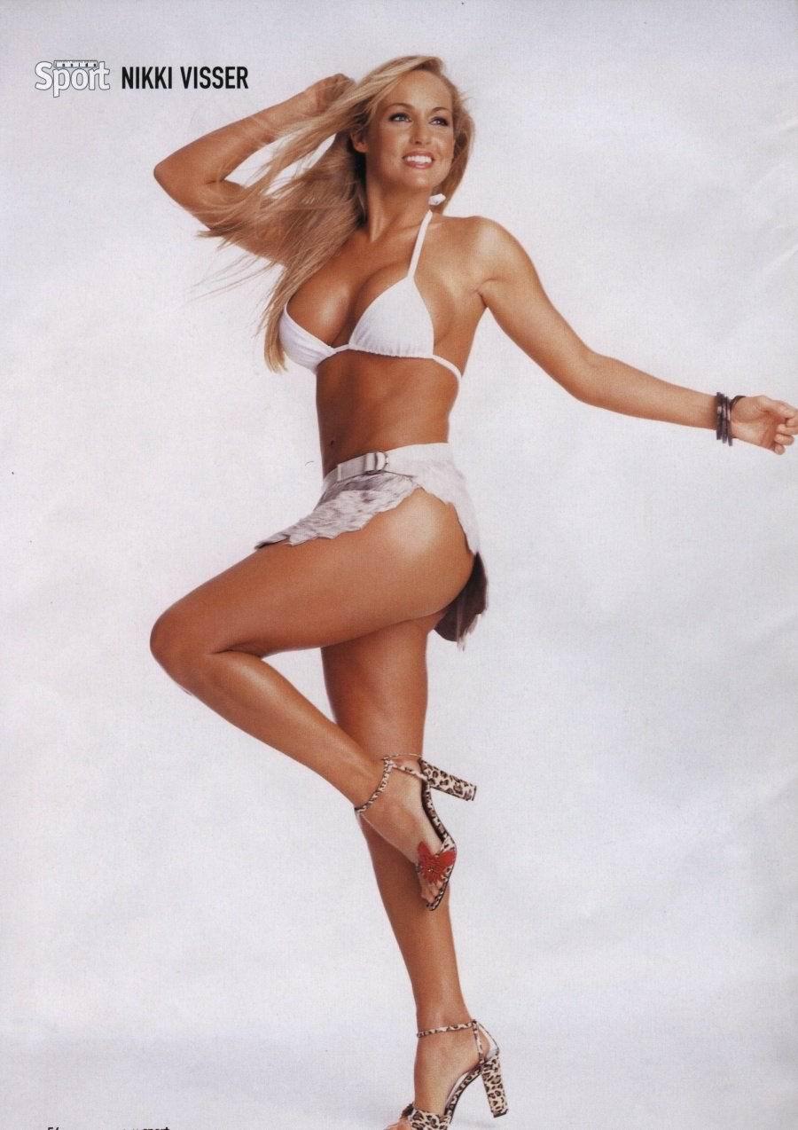 Visser nackt Nikki  41 Sexiest
