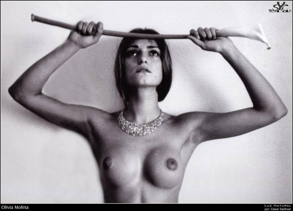 Has olivia molina ever been nude