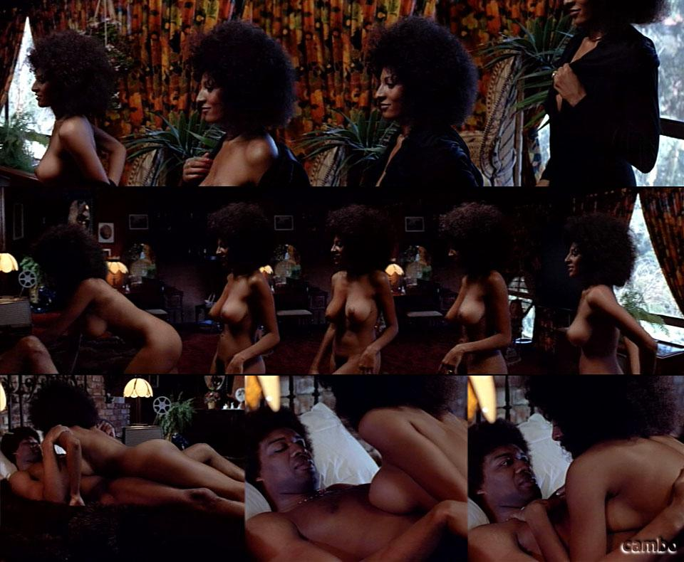 Pam Grier Exposing Her Huge Tits In Nude Picture Caps