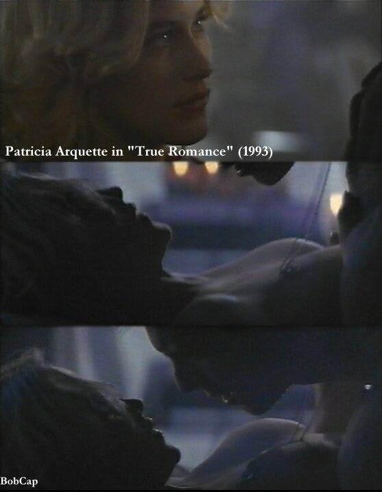 Patricia arquette verdadera escena de sexo romance