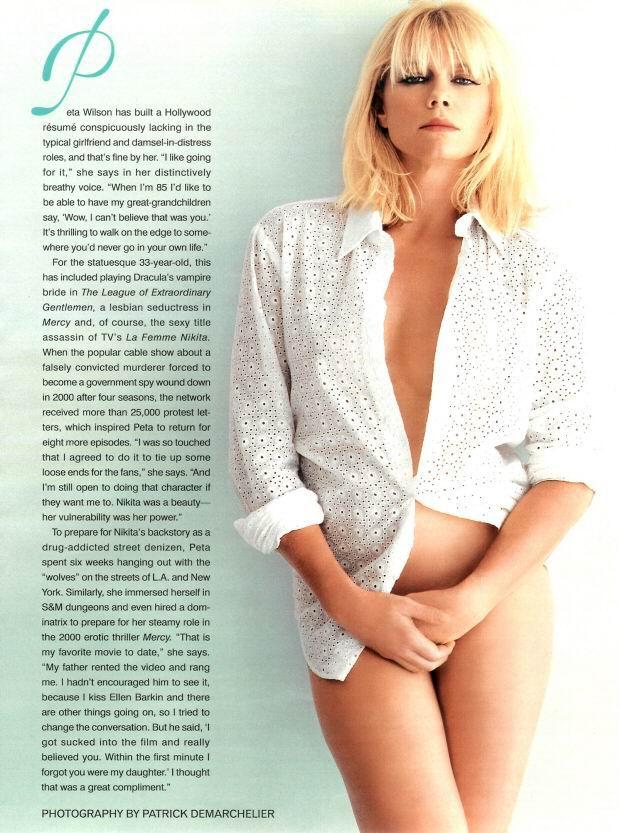 Fotos de desnudos de Peta Wilson filtradas en internet