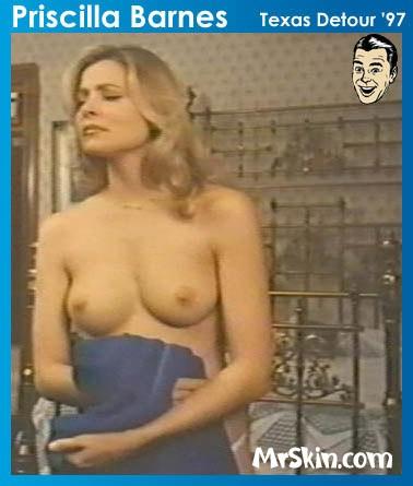 Priscilla barnes topless in the crossing guard
