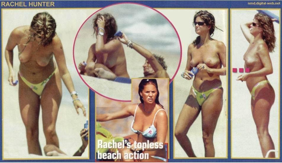 Rachel Hunter topless Bilder #11