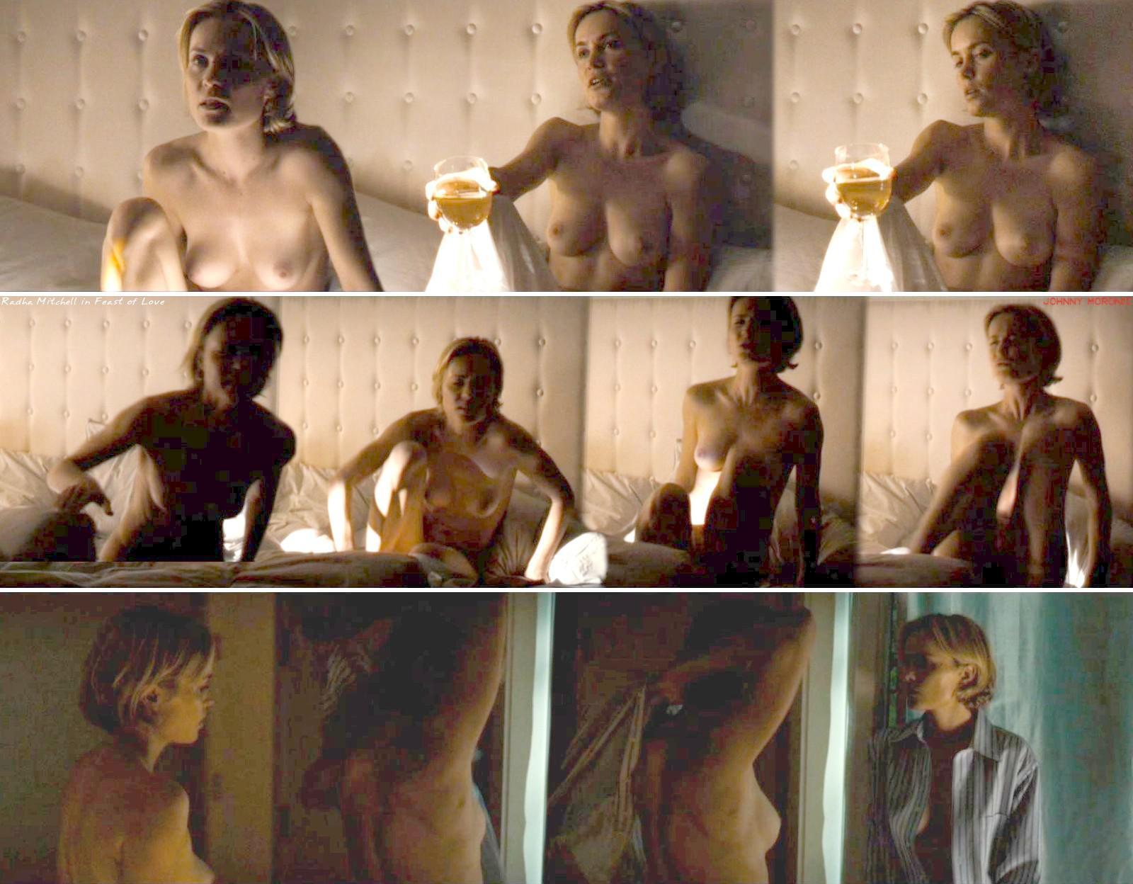 Radha Mitchell Nude Hairy Pussy