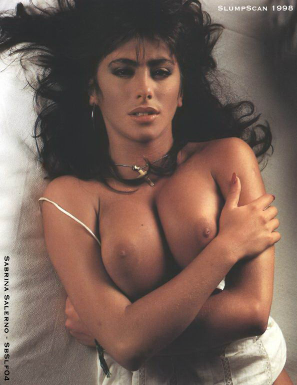 Sabrina Salerno became a regular in the UK charts and men's magazines