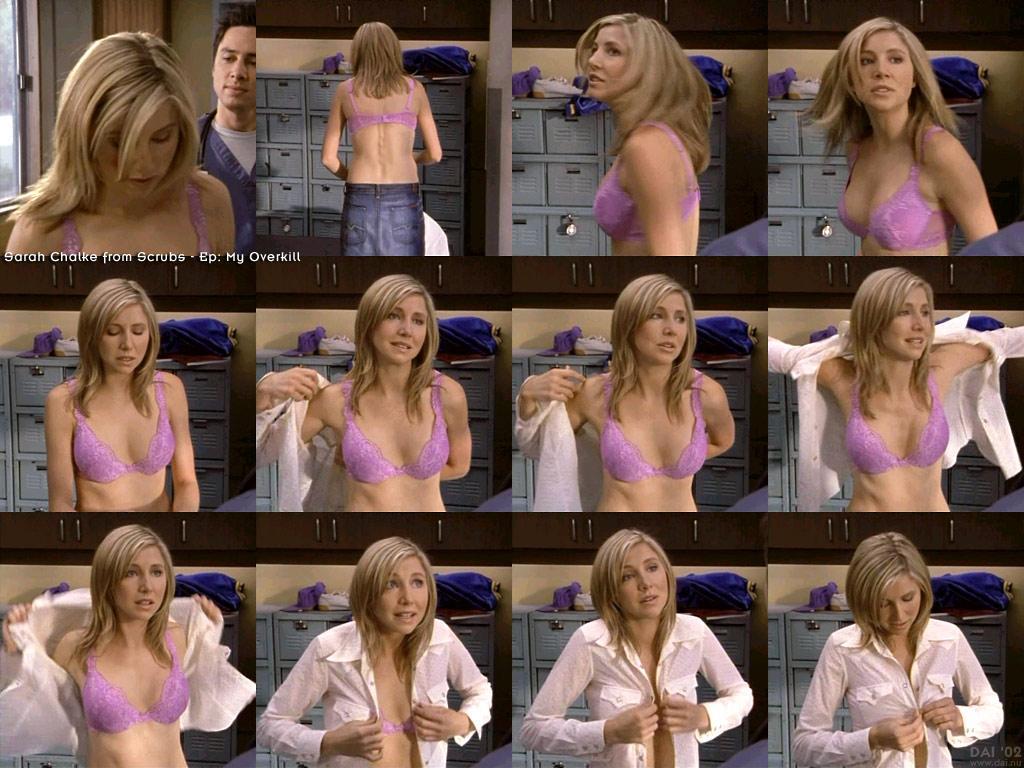 Sarah chalke topless