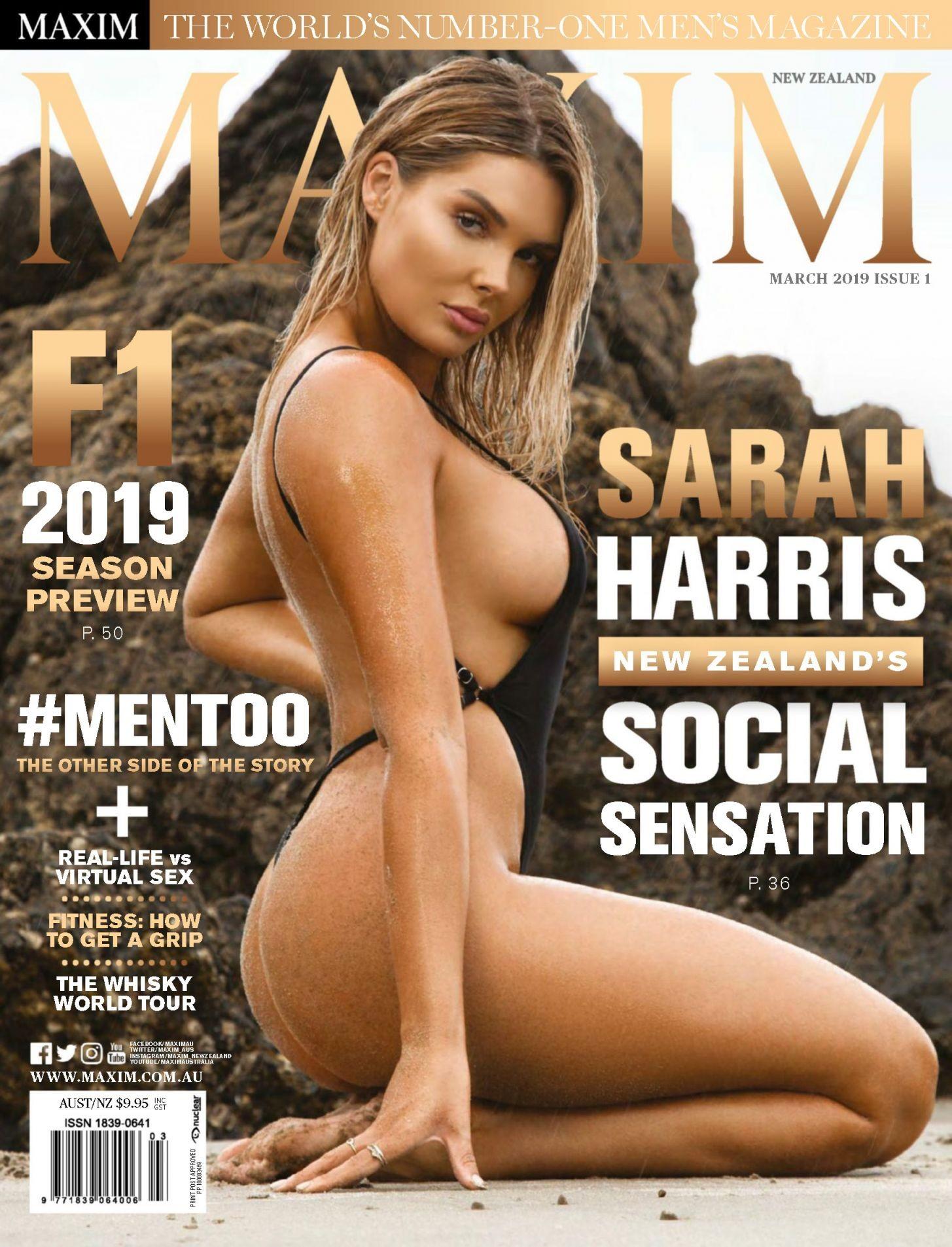 Harris  nackt Sarah Playboy Sarah