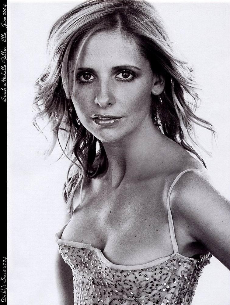 Fotos de Sarah Michelle Gellar desnuda para promocin