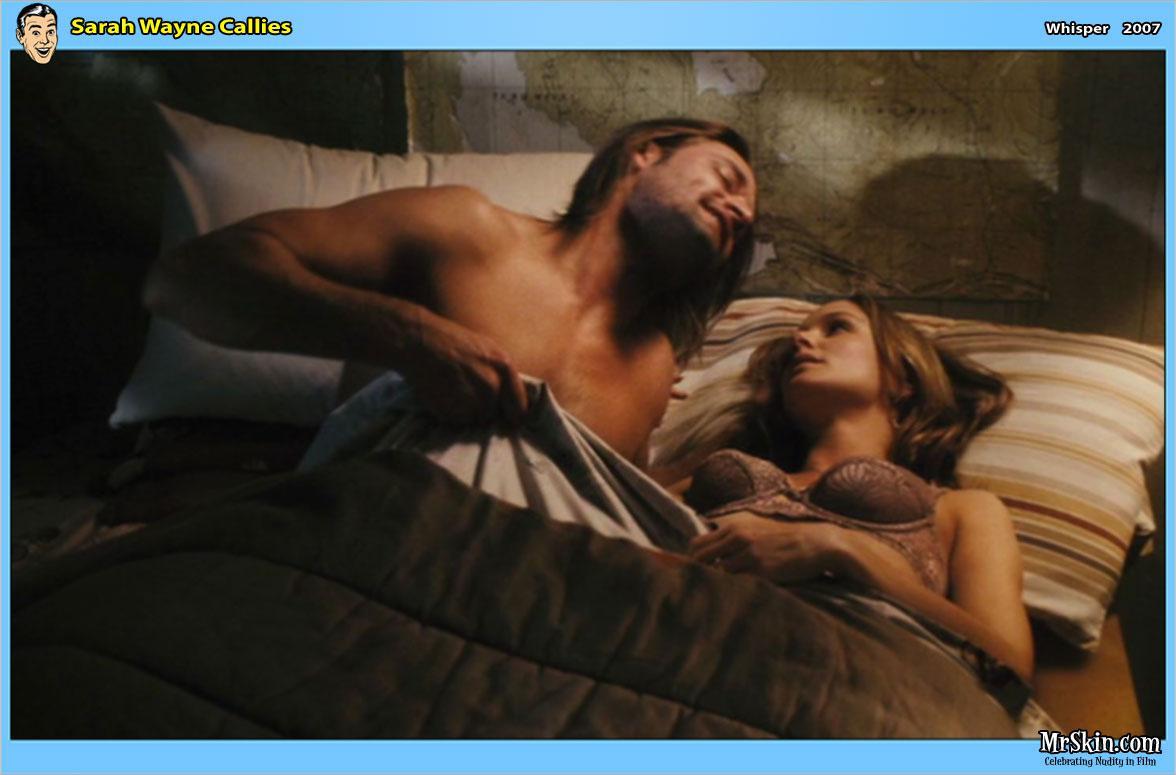 Sarah Wayne Callies Sexy Scene in