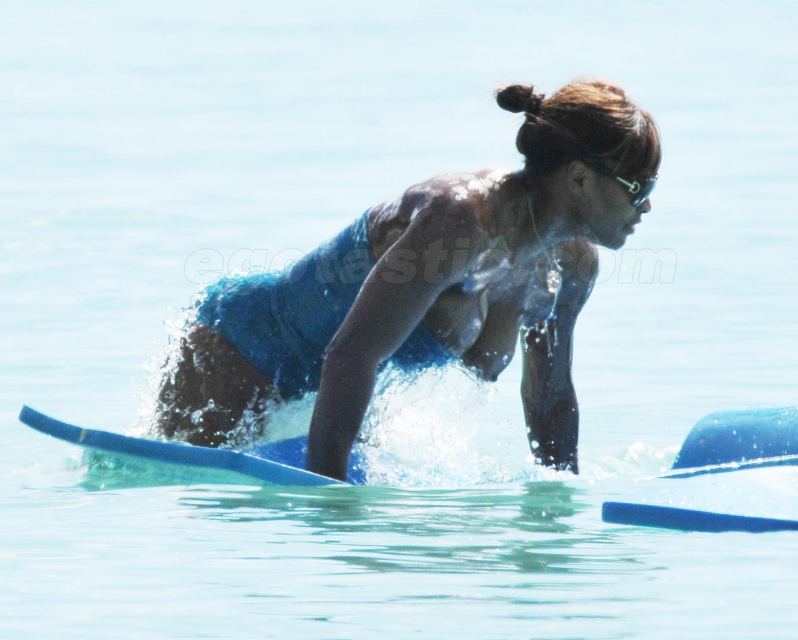 Serena Williams se desnuda para mostrar su embarazo