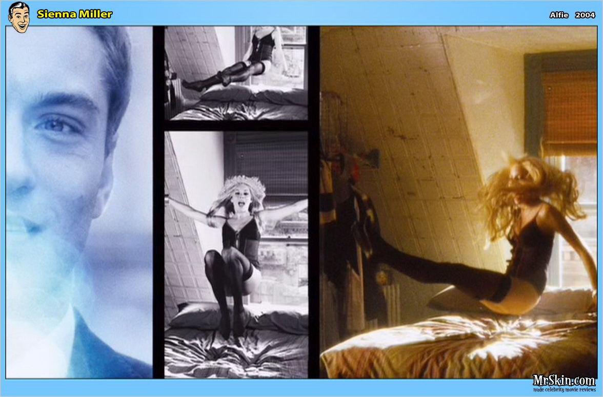 Sienna Miller desnuda junto a Jude Law en una escena