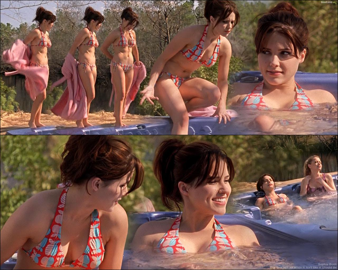 Sophia bush sexy ass, wife naked in body paint