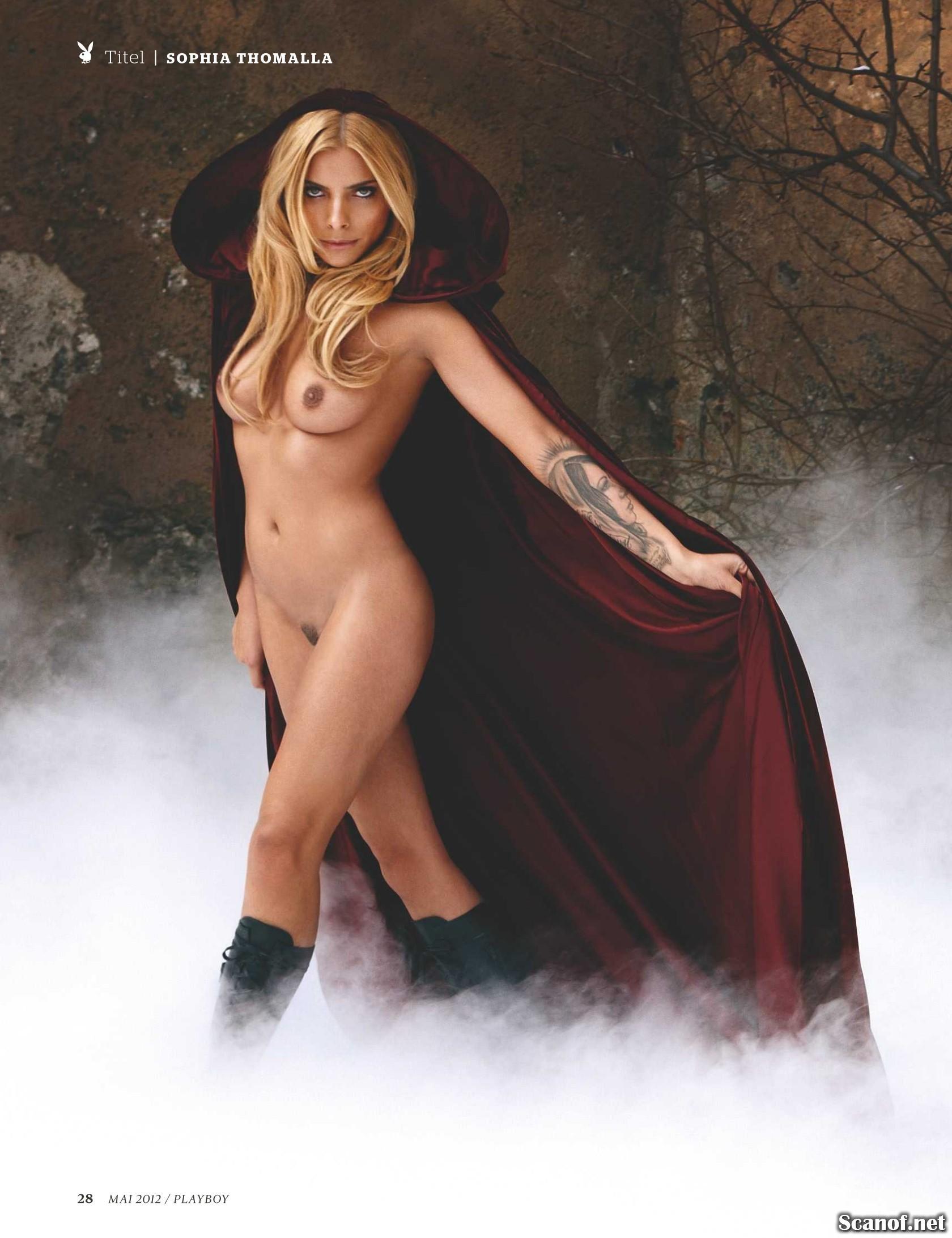Sophia Thomalla Nude Naked Pics And Videos Imperiodefamosas