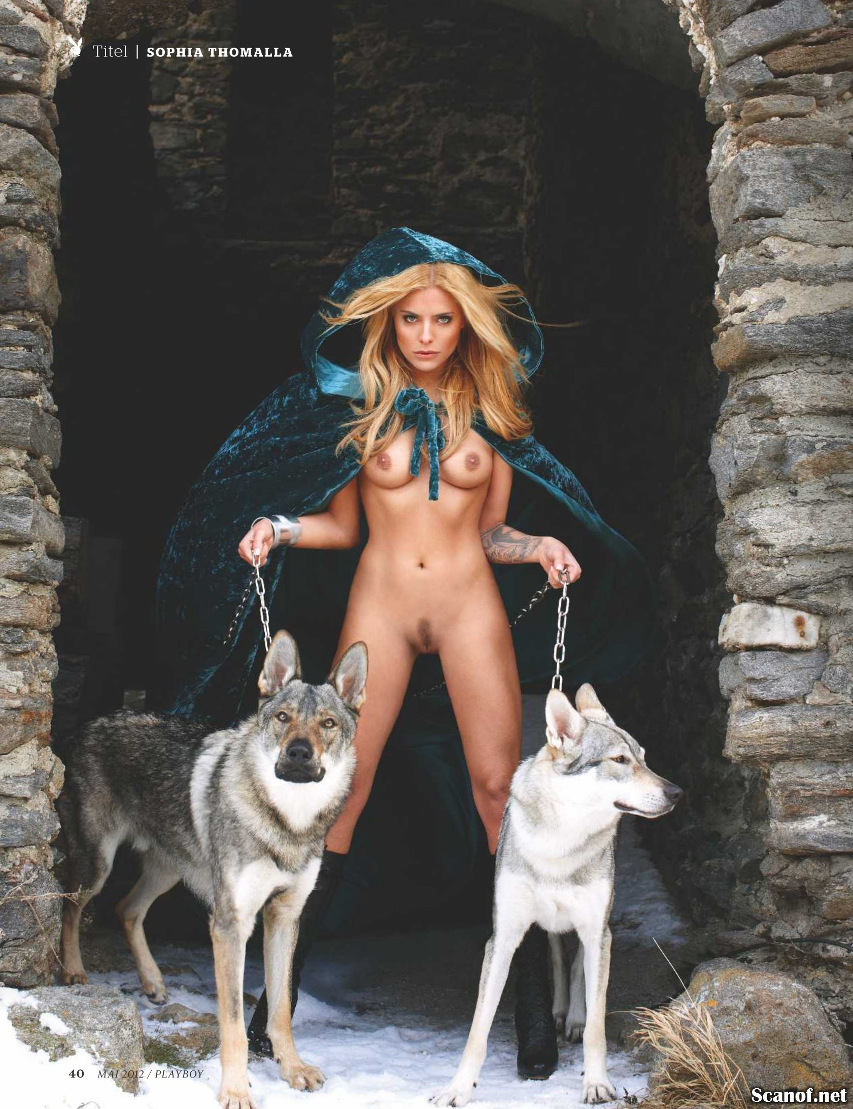 Naked with wolves nude vintage slaves