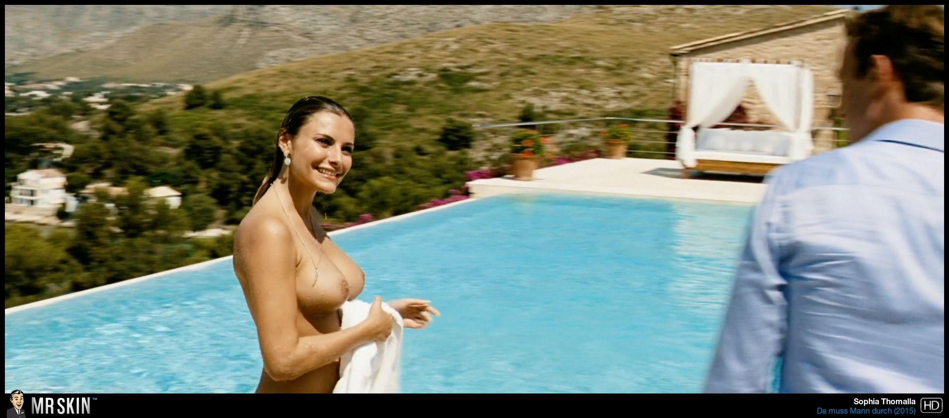 Thomalla naked sophia Sophia Thomalla