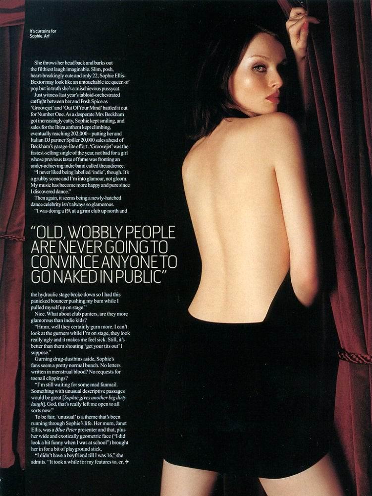 nackt Ellis Bextor Sophie Sophie Ellis