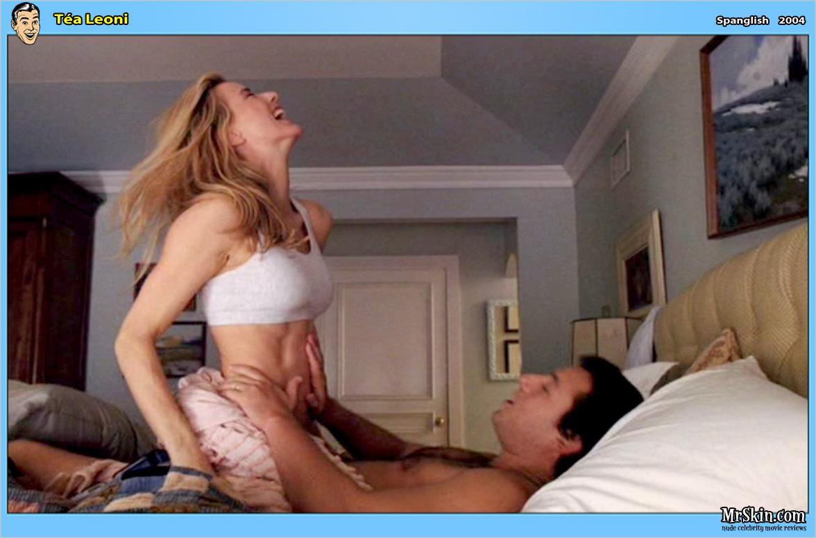 Tea leoni orgasm
