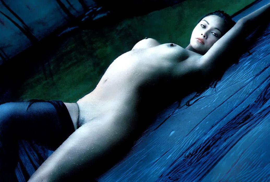 Desnuda Fotos De Tia Carrere Desnuda Tetas Pezon Culo Coño