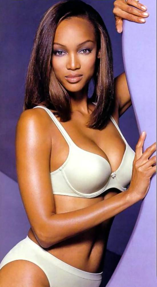 How tyra banks hid weight gain