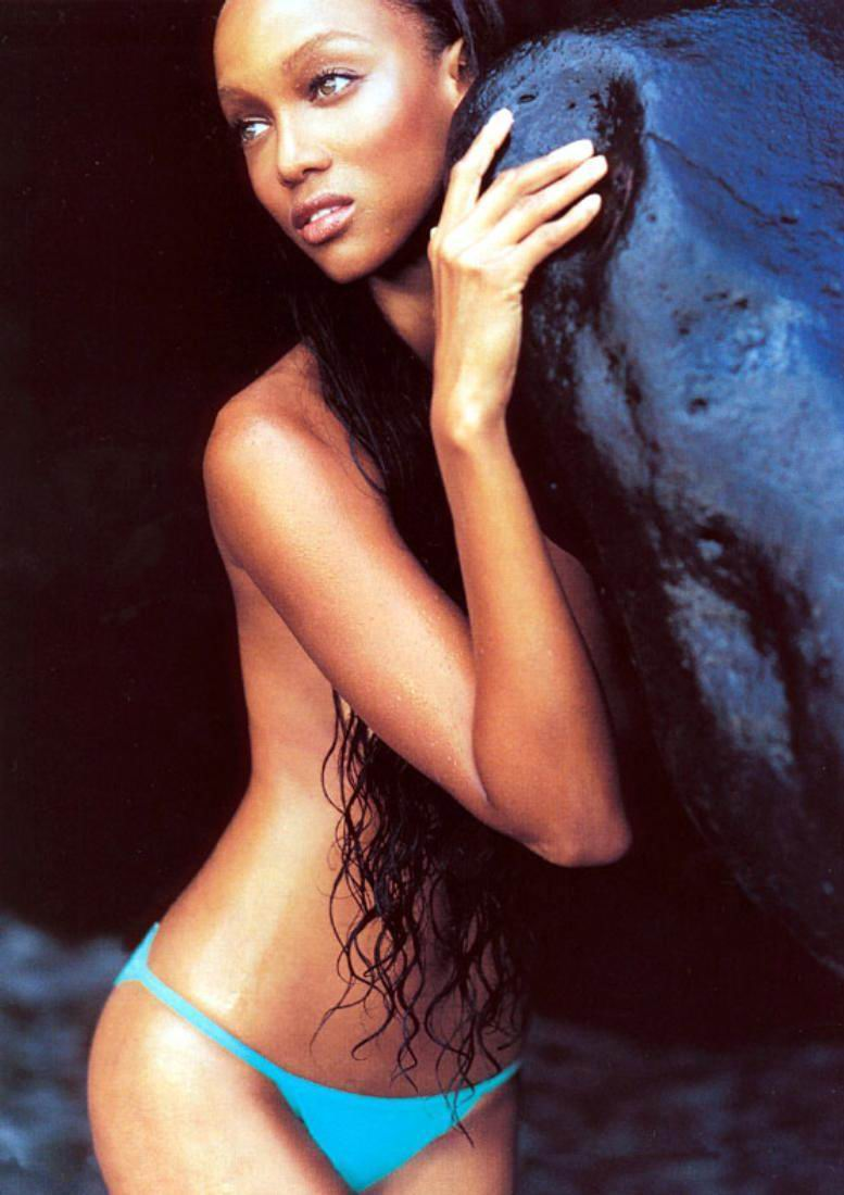 Supermodel tyra banks naked photos uncovered full collection