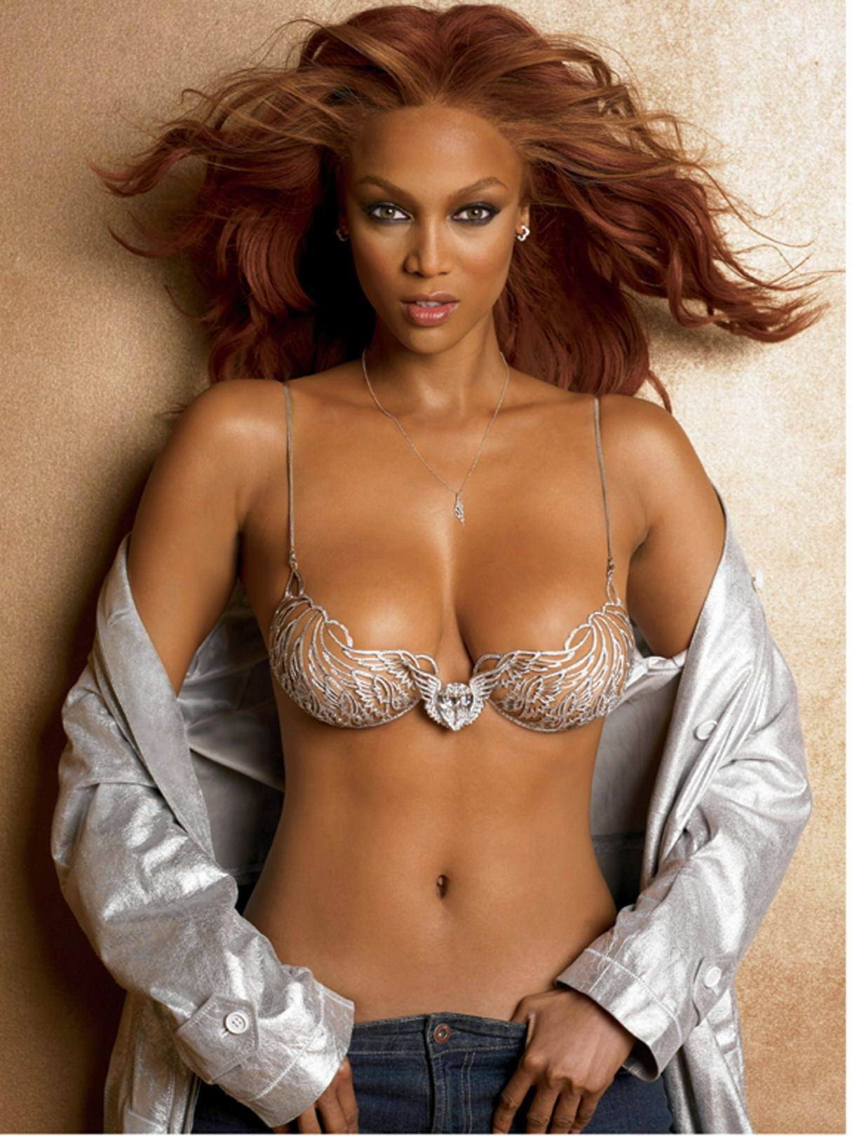 You Need To See Tyra Banks Natural Afro