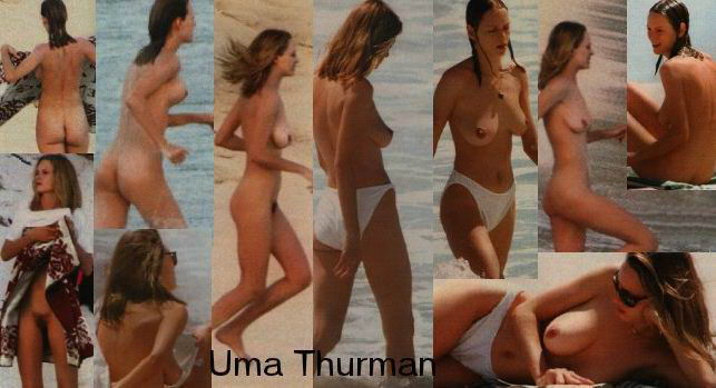 Uma thurman nude, topless pictures, playboy photos, sex scene uncensored