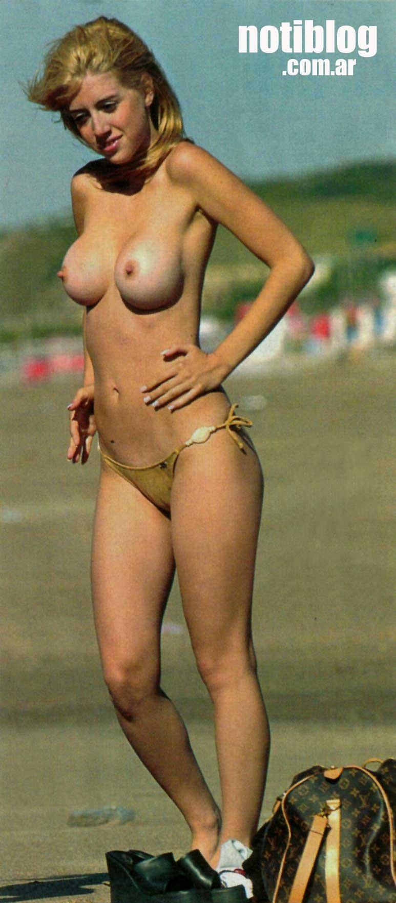 wanda nara topless