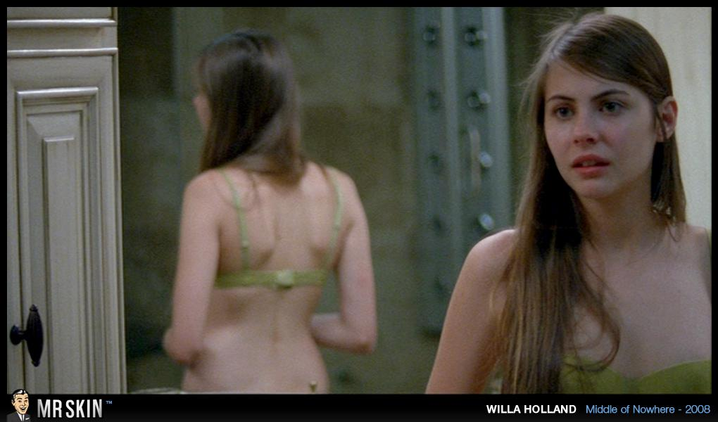 American actress, voice actress, and model willa holland nude