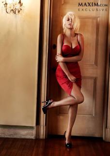 Christina Aguilera en Maxim [645x908] [65.27 kb]
