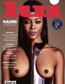Naomi Campbell en Lui Magazine Desnuda [1238x1592] [292.68 kb]