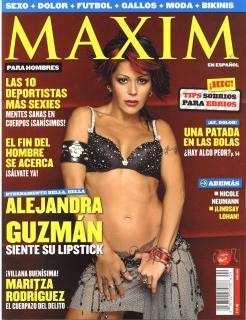 Alejandra Guzmán in Maxim [2484x3228] [1209.27 kb]