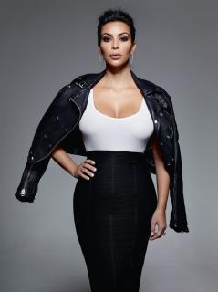 Kim Kardashian en Elle [1261x1682] [210.07 kb]