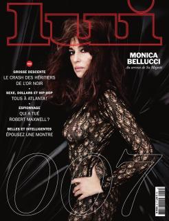 Monica Bellucci en Lui Magazine [970x1260] [258.55 kb]