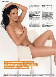 Sophie Anderton en Zoo Magazine Desnuda [990x1350] [150.34 kb]