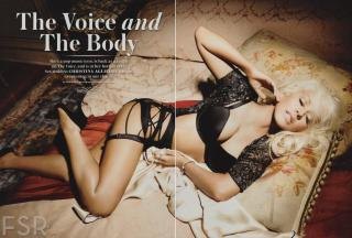 Christina Aguilera in Maxim [2366x1600] [347.46 kb]