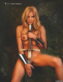 Sophia Thomalla en Playboy [1681x2185] [457.59 kb]