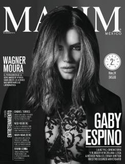 Gaby Espino en Maxim [992x1300] [266.06 kb]