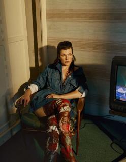 Milla Jovovich [1280x1651] [369.73 kb]