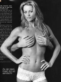 nackt Inge de Bruijn Kristin Otto