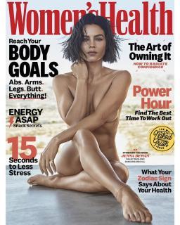 Jenna Dewan en Womens Health [1080x1349] [292.14 kb]