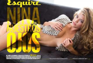Nina Agdal en Esquire [3900x2642] [717.83 kb]