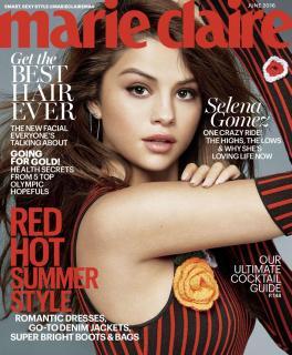 Selena Gomez en Marie Claire [1400x1692] [584.52 kb]